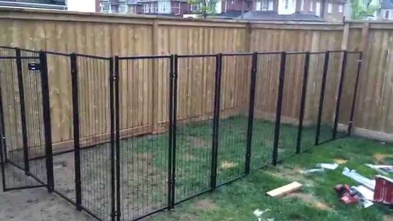 How-To-Build-A-Dog-Run-at-Home