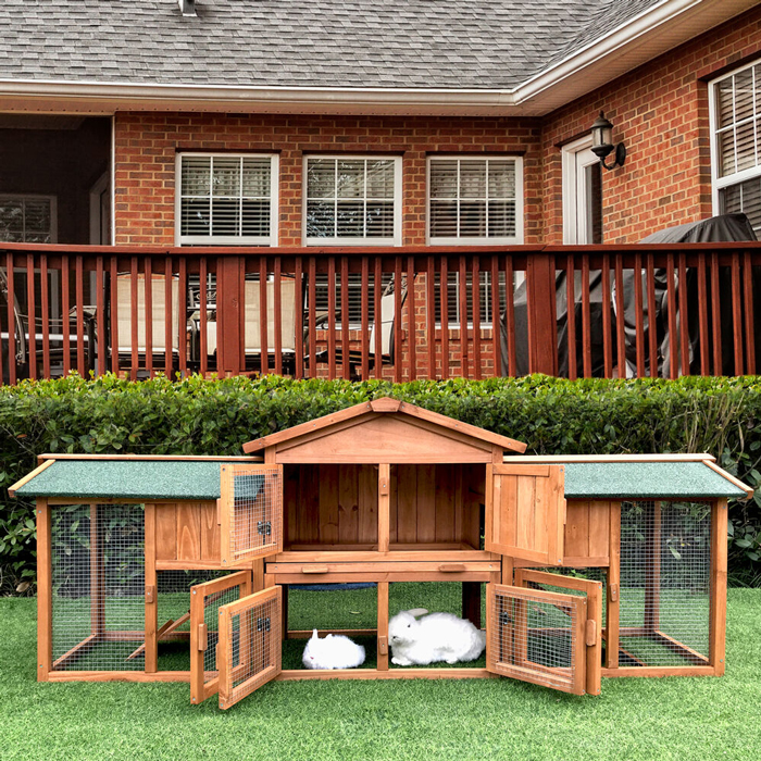 perfect rabbit cage