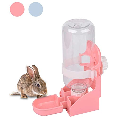 Kathson 17oz Water Bottle for Rabbits